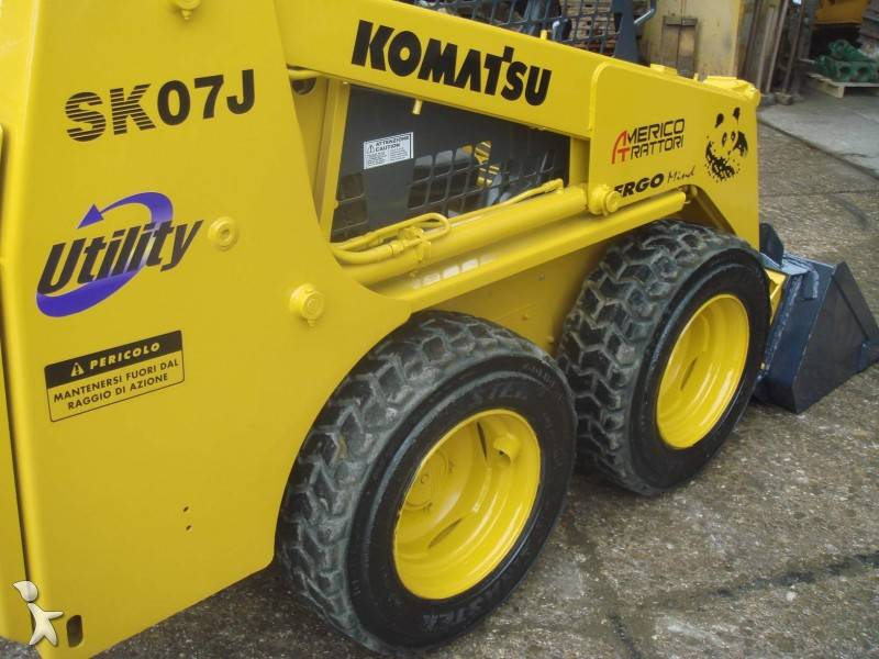 Komatsu SK07J Skid Steer Loader Service Manual Download - Komatsu Service  Manual Online Download