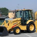 komatsu wb97r 5 backhoe loader operation maintenance manual